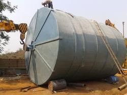 10000 L FRP Acid Storage Tank
