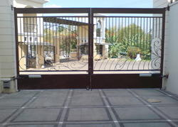 Steel Automatic Gate With Motor