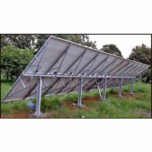 Seasonal Tilt Structure Solar Tracking System Jubilee