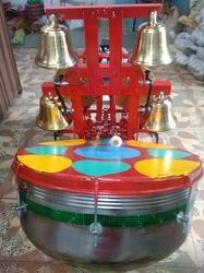 Mild Steel Multicolor Automatic Bell Player