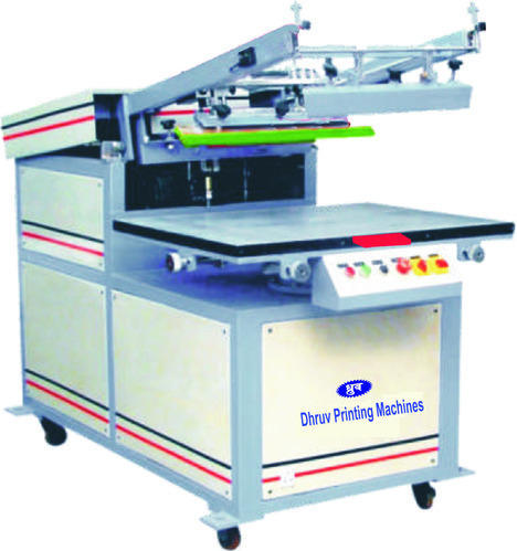 Single Color Clamshell Screen Printing Machine