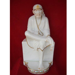 Beautiful Sai Baba From White Marble