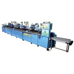 3 Color Round IR Screen Printing Machine