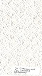 two tone metallic embossed handmade paper