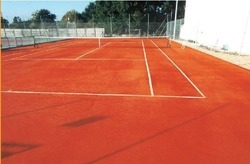 Tennis Court And Court Flooring