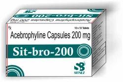 Acebrophylline 200mg Capsule
