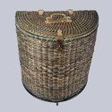 Half Round Cane Storage Basket, Size/dimension: 17 Inches