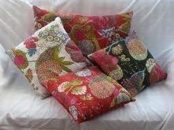 Kantha Tropicana Cushion Cover