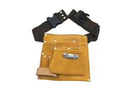 Single Pocket Leather Tool Pouch, Pure Leather: Yes