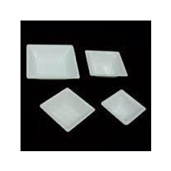 Acrylic Square Plate With Bowl