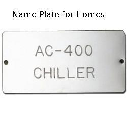 Name Plate for Homes