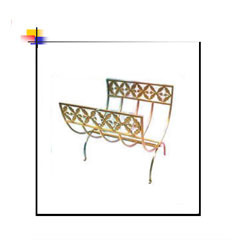 Flower Design Square Rod Log Carrier