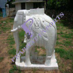 White Stone Elephant