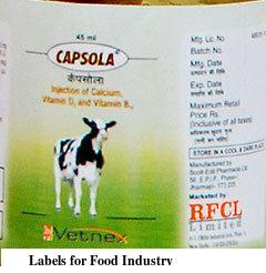 Labels for Food Industry