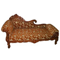 Hand Carved Chaise Lounge