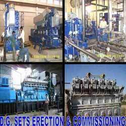 DG Sets Erection and Commissioning