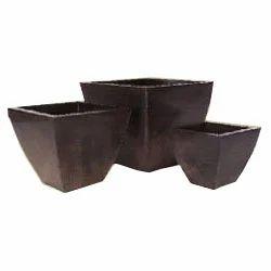 Square Flare Planters Pot