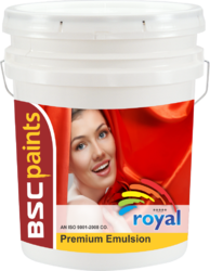 BSC Royals Premium Luxury Interior Emulsion
