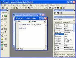 Windows Programming using VB