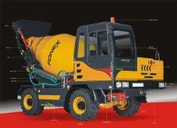 Self Loading Concrete Mixer Truck Self Loading Transit