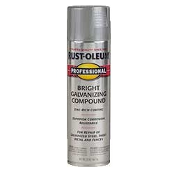 Rust Oleum Galvanizing Compound Spray - Zinc Coating Spray