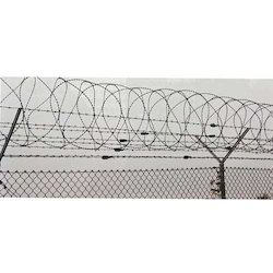 Iron Silver Concertina Fencing
