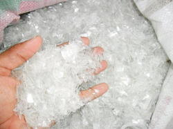 White PET Sheet Natural Grinding Scrap, For Plastic Industry, Packaging Type: Carton Box