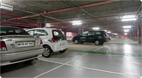 Epoxy Basement Car Parking Flooring Service