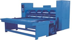 Combined Rotary Creasing Slotting & Slittering Machine