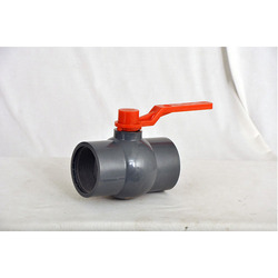 PP Solid Ball Valve Long Handle