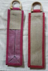 Designer Bottle Jute Bags