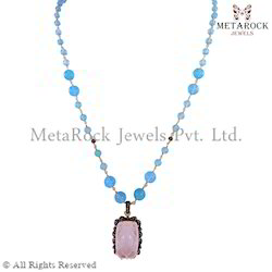 Gemstone Diamond Necklace