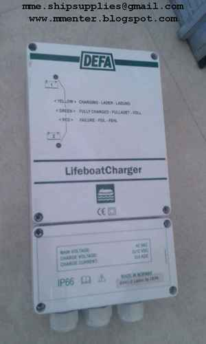 Defa Ladac Lifeboat Charger Defa Lifeboat Battery
