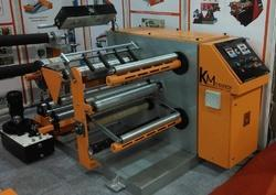 Doctoring Rewinding machine With Slitting