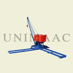 Mini Builders Crane, Capacity: 600 Kg