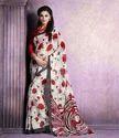 Floral Chiffon Saree