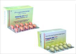 Progesterone Soft Gelatin Capsule, For Clinical, Packaging Size: 10x10 Capsules