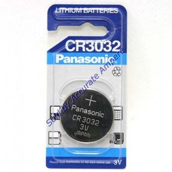 Panasonic Cr 3032 3v Coin Battery