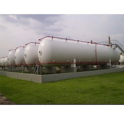Mounded LPG Storage Tank