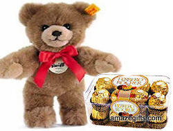 12 Inch Teddy Bears with Ferrero Rocher