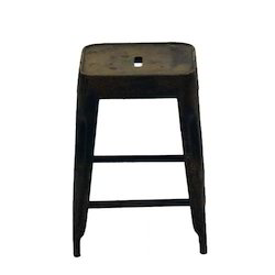 Square Metal Stool