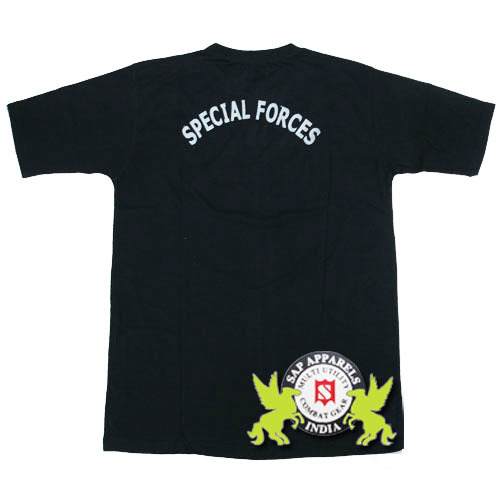 Special Force Tight Fitting Army T Shirts Manufacturer From Ludhiana