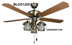 BLOO Decorative Fan With LED Light