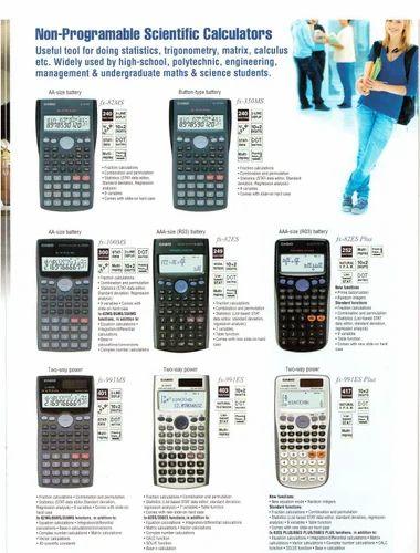 Scientific Casio Calculator, Office Stationery & Calculator