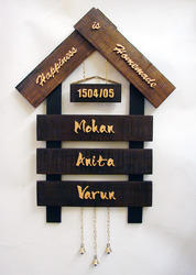 House Name Plates - Wall Name Plate Manufacturer from Mumbai