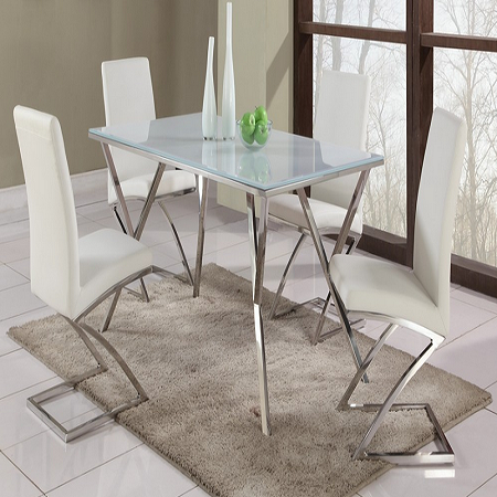 stainless steel dining table great custom stainless steel