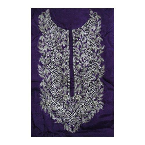Hand Embroidered Suits Pieces Embroidered Fabric Textiles