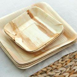 Arecaleaf Square Plates