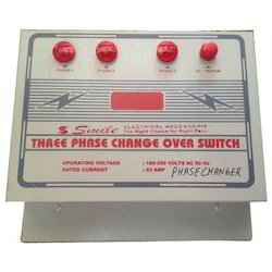 63 Ampere Three Phase Change Over Switch