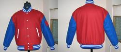 Scarlet Bright Royal Varsity Jacket